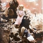 "Kari Laine McCluskey 'The Ascent' Glass Plate Photograph Size 22""x28"""
