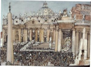 Vatican II procession