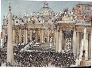 Vatican II procession
