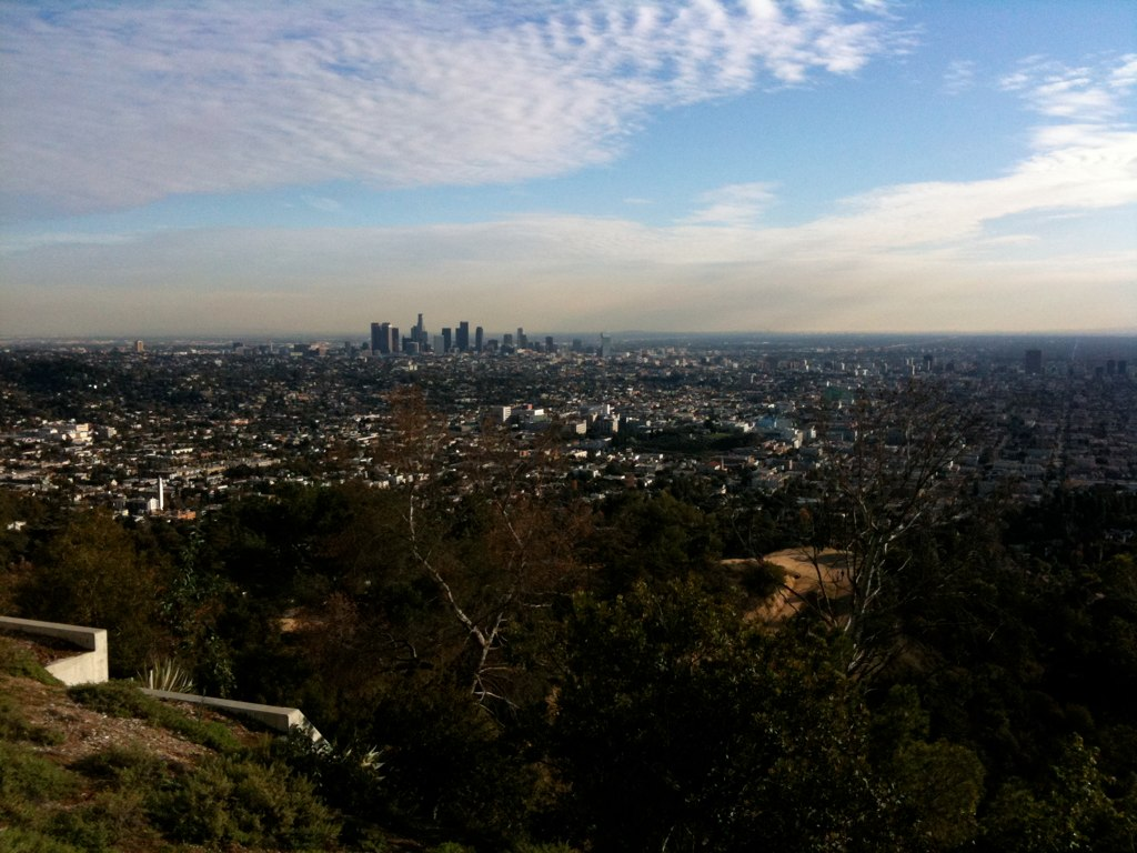 View from Griffith Observatory