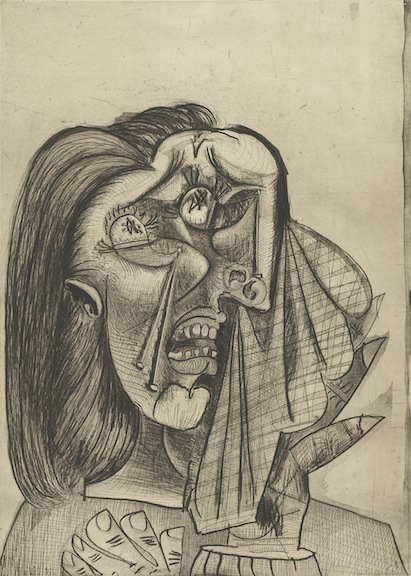 """Weeping Woman I,"" 1937."