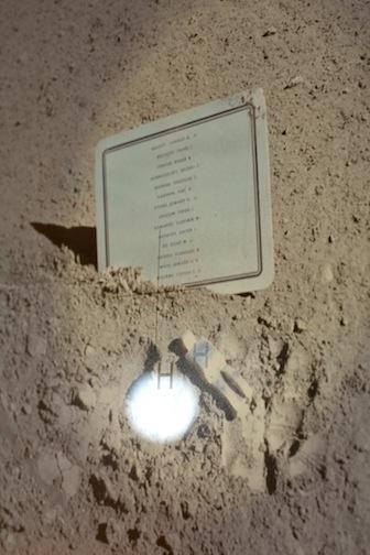 "Amalia Pica, ""Moon Golem,"" 2009."