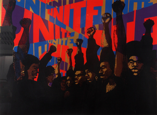 Barbara Jones-Hogu, &quot;Unite,&quot; 1970