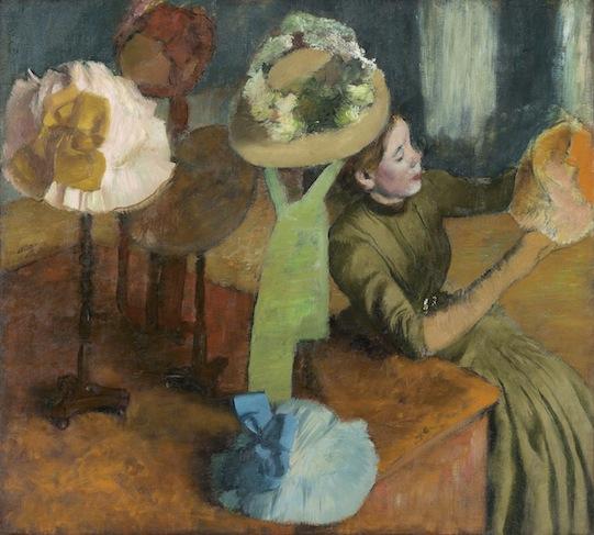 "Edgar Degas, ""Millinery Shop,"" 1879/86"