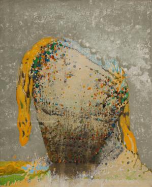 "Irving Petlin, ""Untitled (self-portrait),"" 1975"