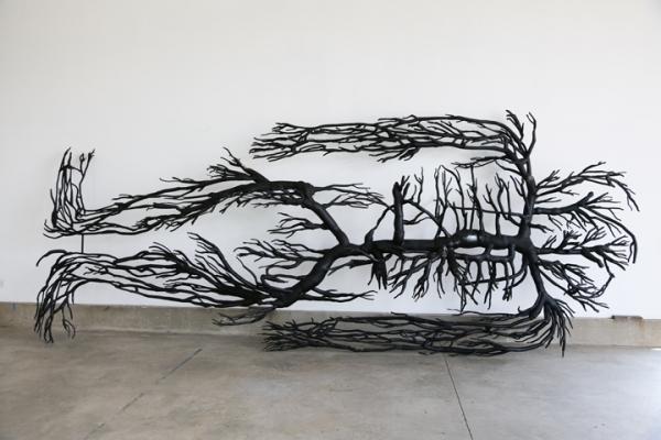 Roxy Paine at Kavi Gupta Gallery