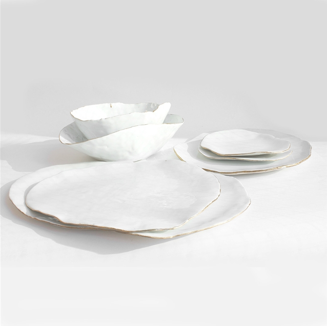 Laura Letinsky's dinner service from Artware Editions