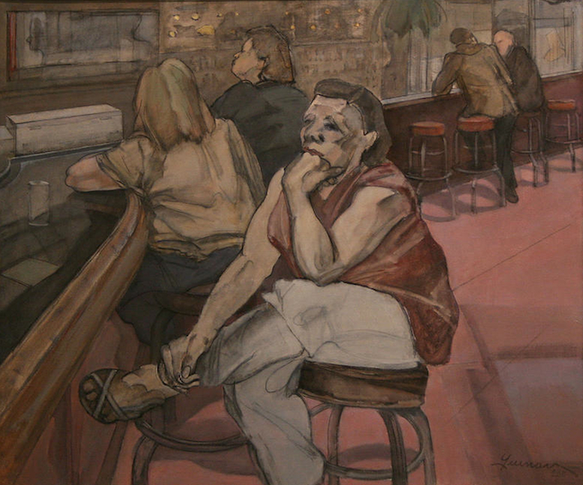 "Robert Guinan, ""At the Double Door,"" 2008"