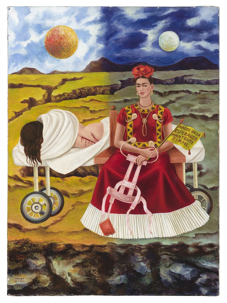 "Frida Kahlo. ""Arbol de la Esperanza (Tree of Hope),"" 1946"