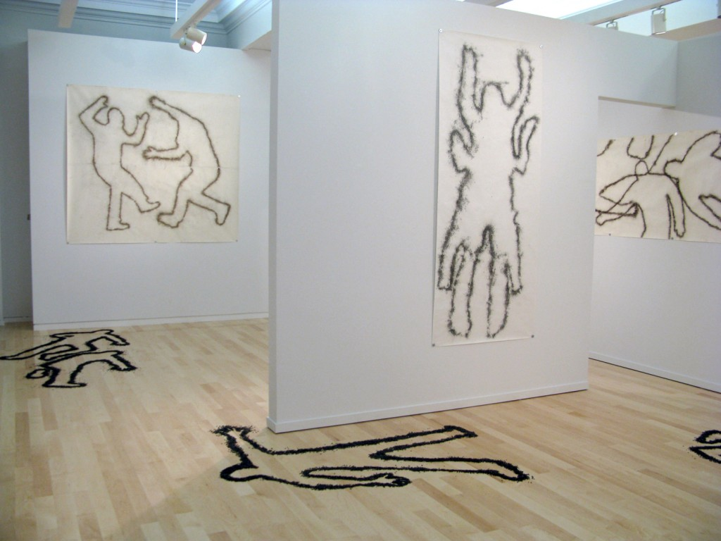 "Miller & Shellabarger. ""Again Gone,"" installation view"