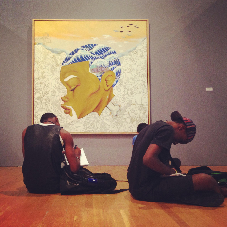 Review: Hebru Brantley/Chicago Cultural Center
