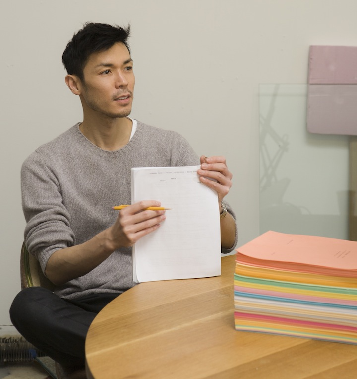 Curator and artist Christopher K. Ho