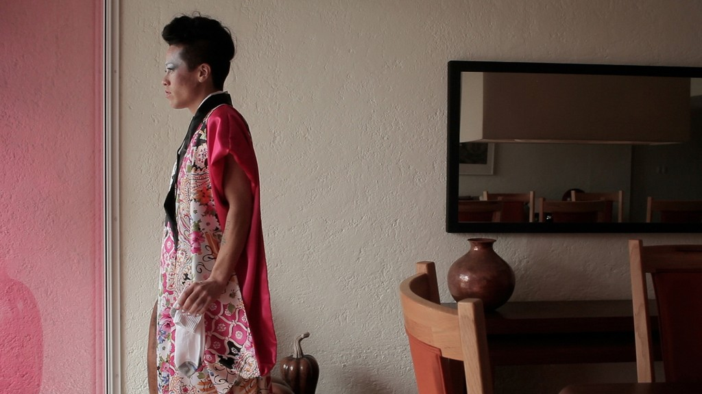 "Still from Wu Tsang's ""Mishima in Mexico,"" 2012"
