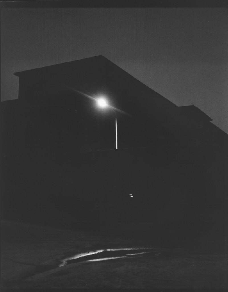 "John Gossage. ""Wihelmstr., (Berlin in the Time of the Wall),"" 1988"
