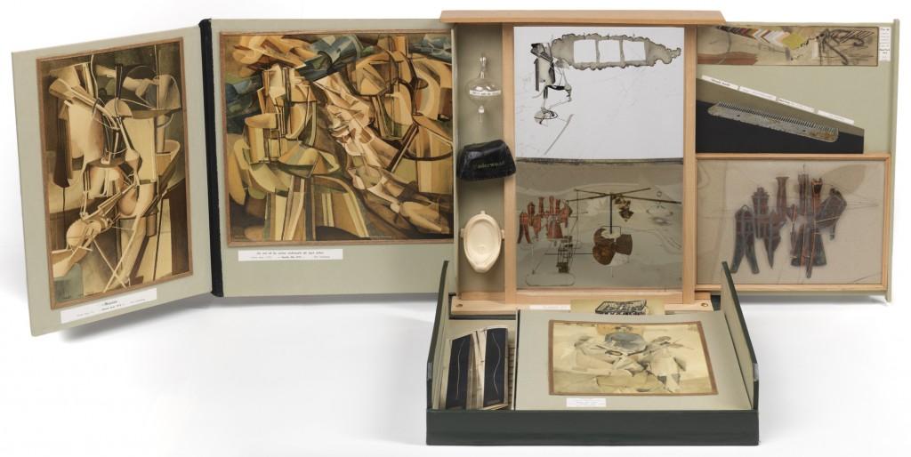 "Marcel Duchamp. ""Boite-en-valise,"" Ed. of 30, 1935-1941 (1963 edition), mixed media"