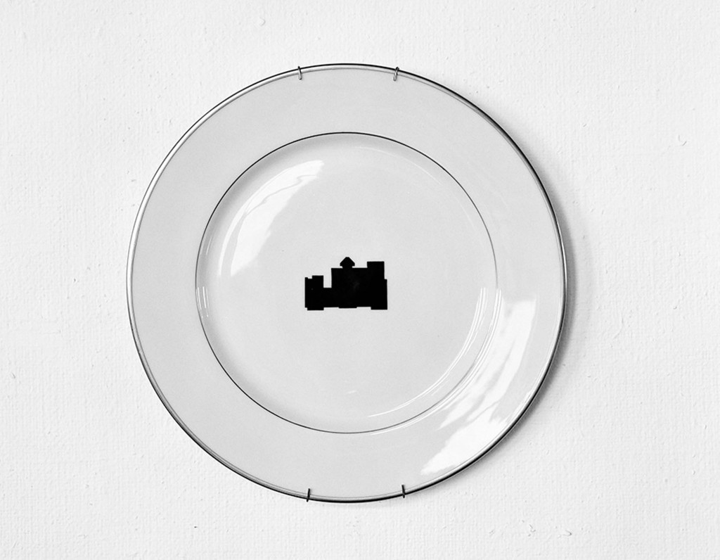 "John Knight, ""Plate #28,"" from ""Museotypes"" series, 1983."