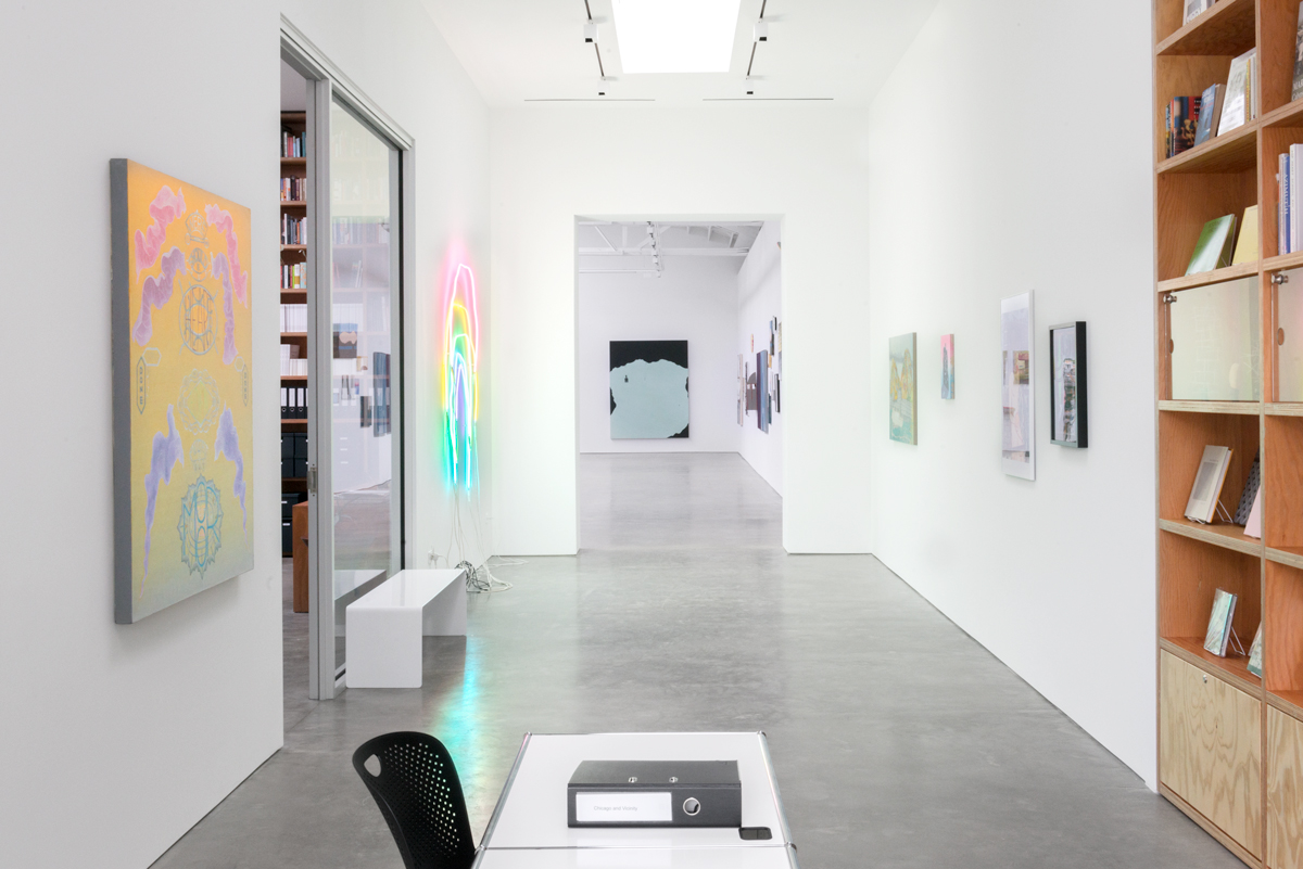 "Installation view of ""Chicago and Vicinity"" at Shane Campbell Gallery, Spring 2016. /Photo: Evan Jenkins."
