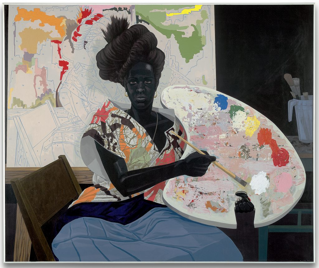 "Kerry James Marshall. ""Untitled,"" 2009. Yale University Art Gallery"