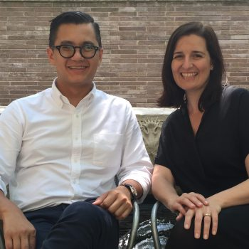 José Esparza Chong Cuy and Sarah Herda, Summer 2016