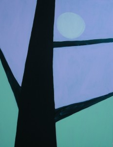 "Peter Hoffman's ""Tree and Moon"" at the Fall Festival"