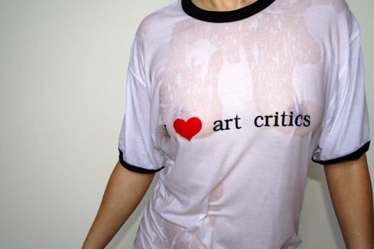 "The Franks, ""I Heart Art Critics,"" 2008"