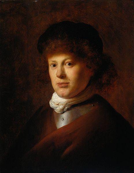 "Jan Lievens, ""Portrait of Rembrandt,"" 1628"