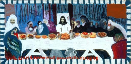 """William Hawkins, """"Last Supper #6"""""""