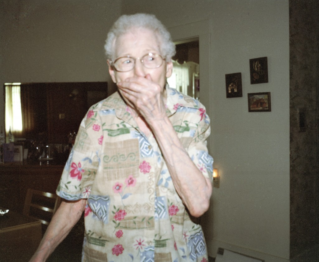 "Jason Lazarus, ""Lavina's surprise party (turning 90)"""