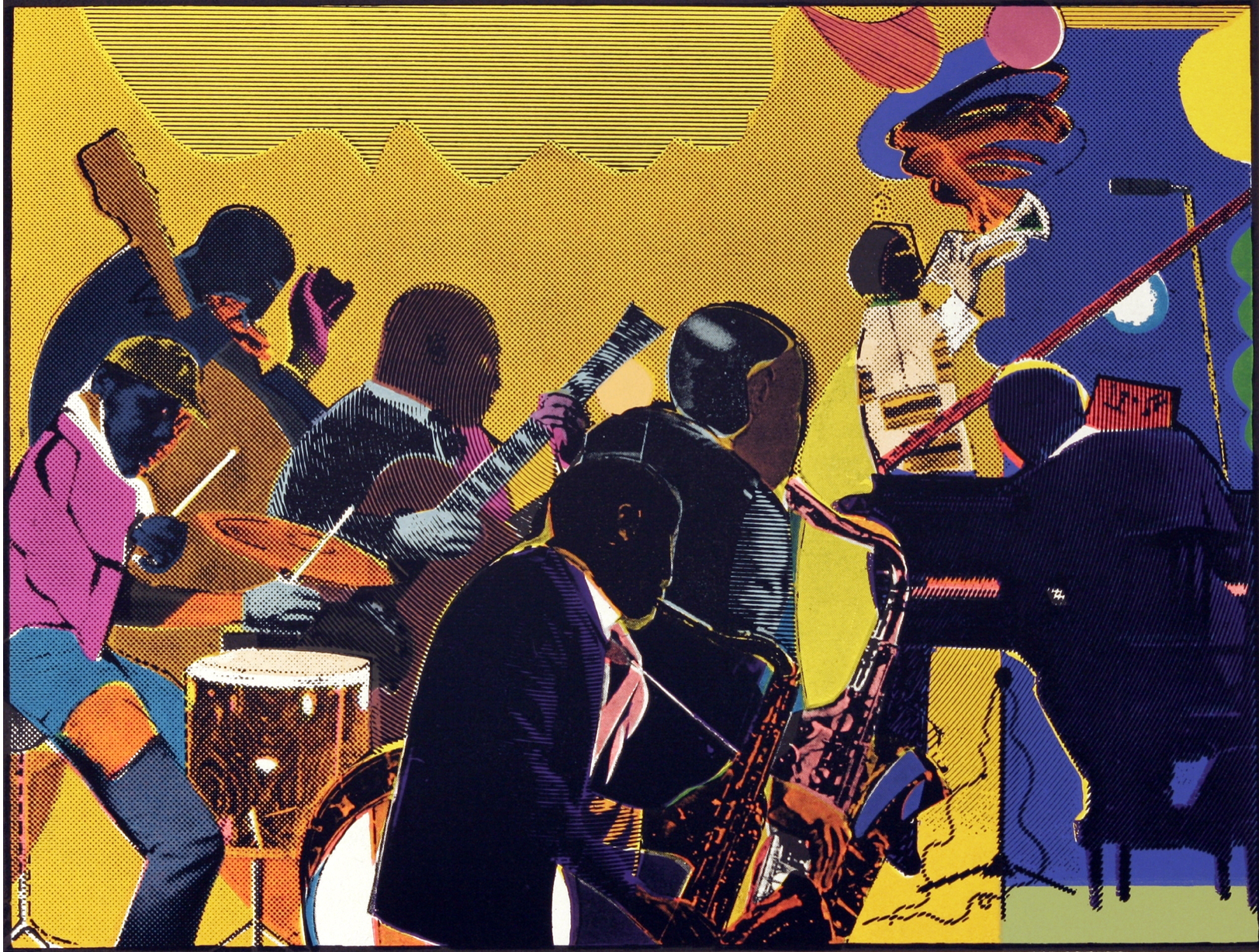 Review: Jacob Lawrence & Romare Bearden/Chicago Cultural Center ...