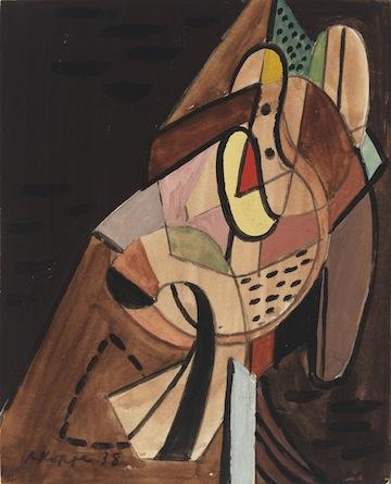 A gouache from 1938