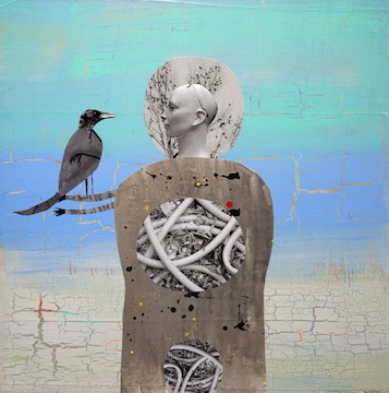 Woman with Crow, 2012