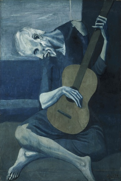 """The Old Guitarist,"" 1902–04."