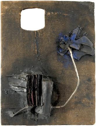 "John Latham, ""Untitled,"" August 1958. Richard Saltoun, London"