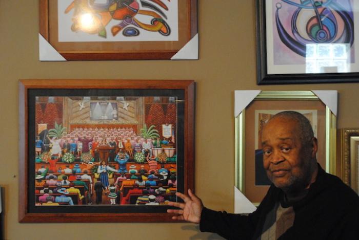 Portrait Of The Artist Melvin King