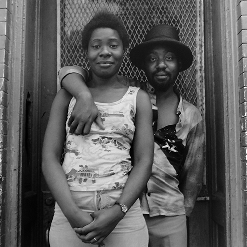 "Couple on Street, ""West Garfield Park"""