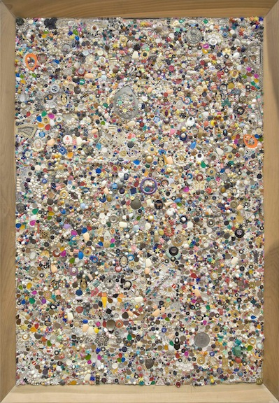 """Mike Kelley, """"Memory Ware Flat# 3"""" at Skarstedt Gallery"""