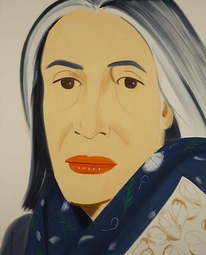 """""""Ada with Blue Scarf,"""" 2012"""
