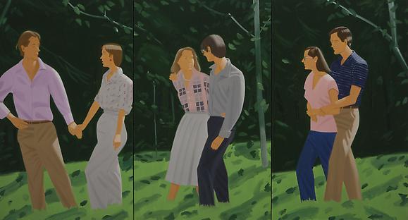 """""""Summer Triptych,"""" 1985"""