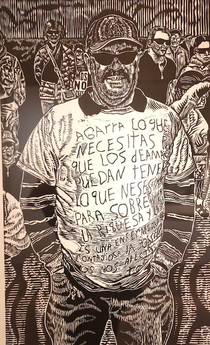 Raoul Deal at Latino Art, Milwaukee