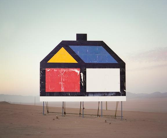 "Reuben Wu, ""Untitled (Billboard, La Negra, Atacama Desert, Chile, 2011)"""