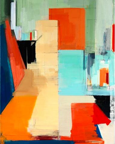 """""""Studio XXX,"""" oil on canvas, 2013"""