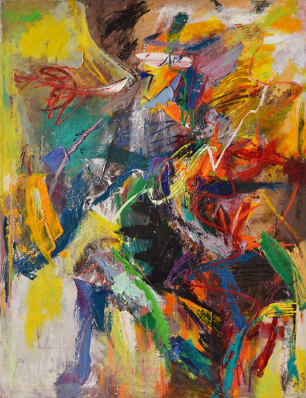 Untitled, 1950s, oil on canvas