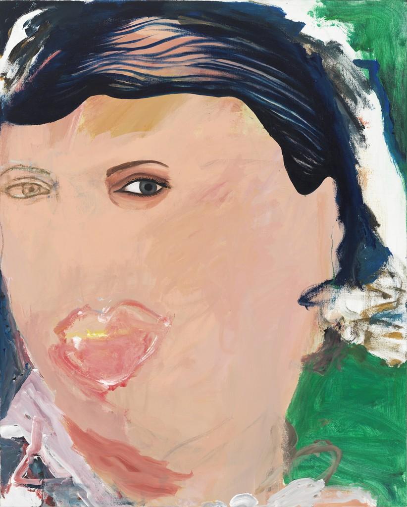 """Bernice,"" acrylic on linen, 2014"