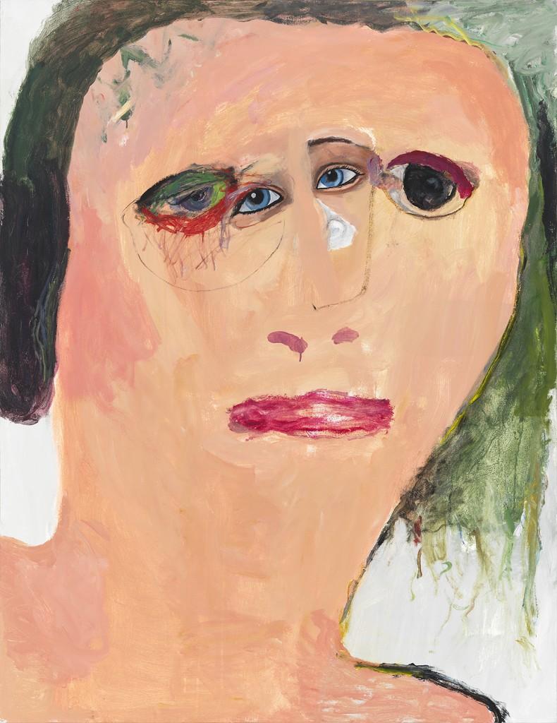 """Marie Christine,"" acrylic on linen, 2014"