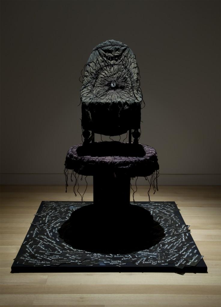 """Gerda Meyer Bernstein. """"Gerda Meyer Bernstein,"""" mixed media installation"""
