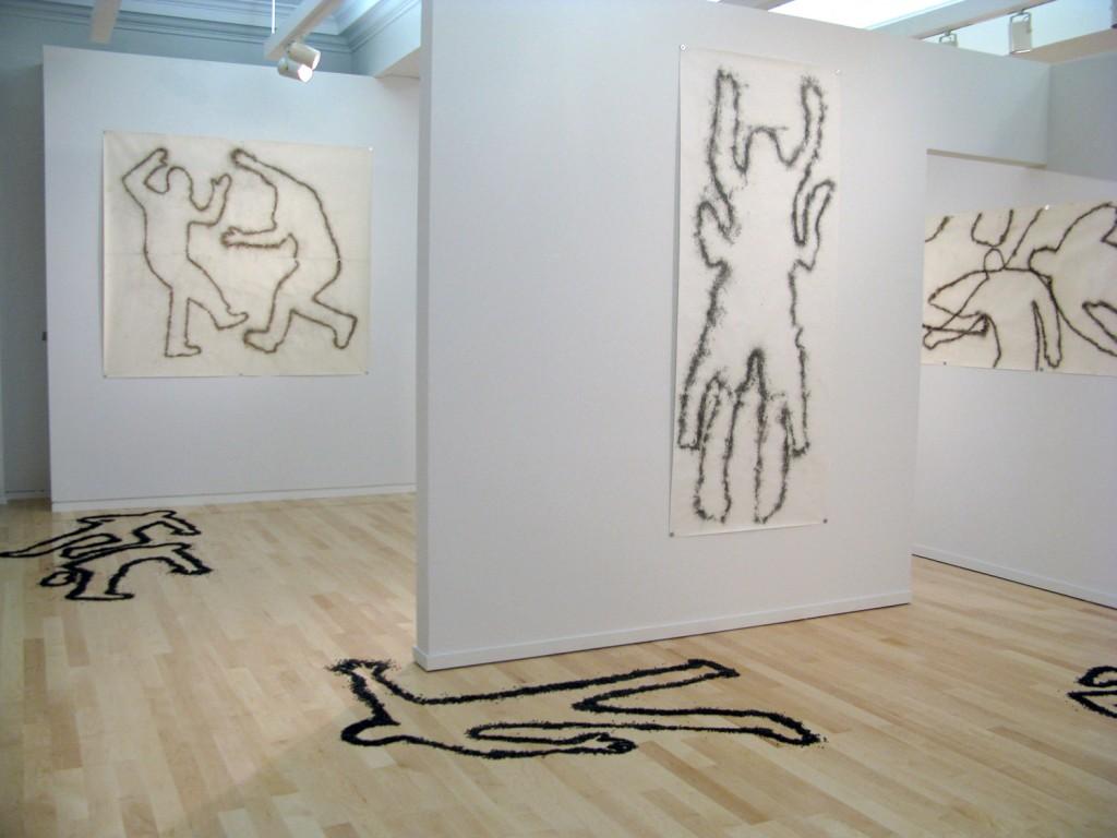 "Miller & Shellabarger. ""Again Gone,"" installation view"