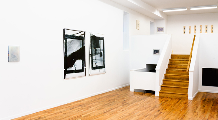 "Installation view of ""Murmurs"" at Regards"