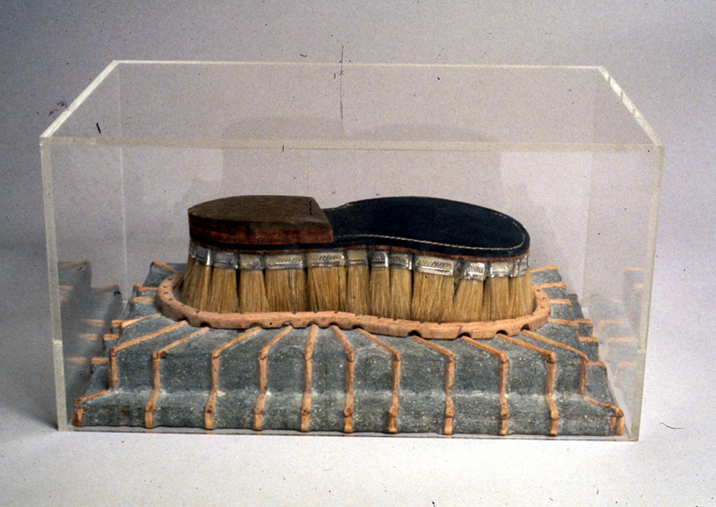 "Margaret Wharton. ""Neolithic Vision: Tribute to H.C. Wastermann,"" 1990"