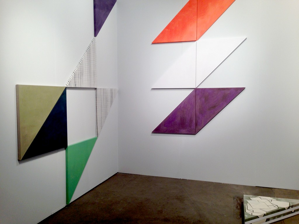 Installation view of Ana Cardosa at Longhouse Projects (Booth #631)