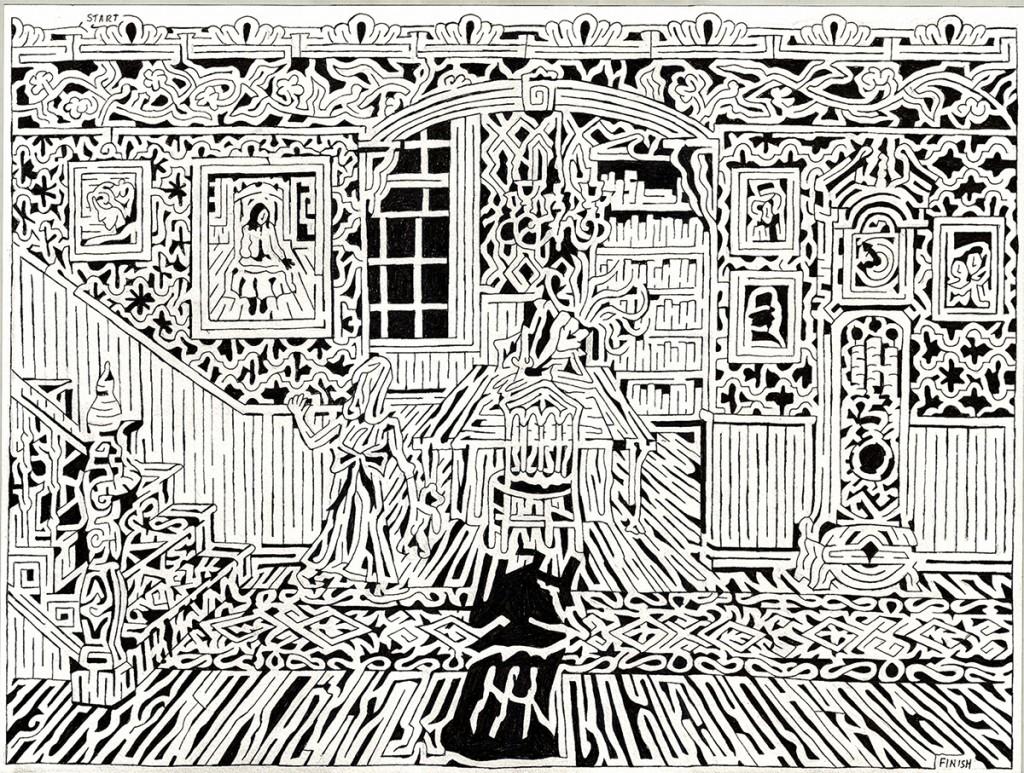 Matthew Haussler's Victorian Maze